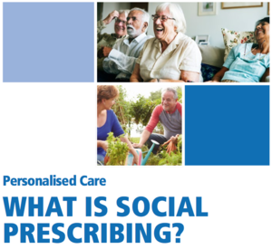 Personalised Care - WHAT IS SOCIAL PRESCRIBING?