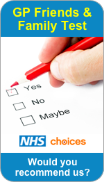 Would you recommend Heath Hayes Health Centre and Chase Medical Practice to Friends and Family?